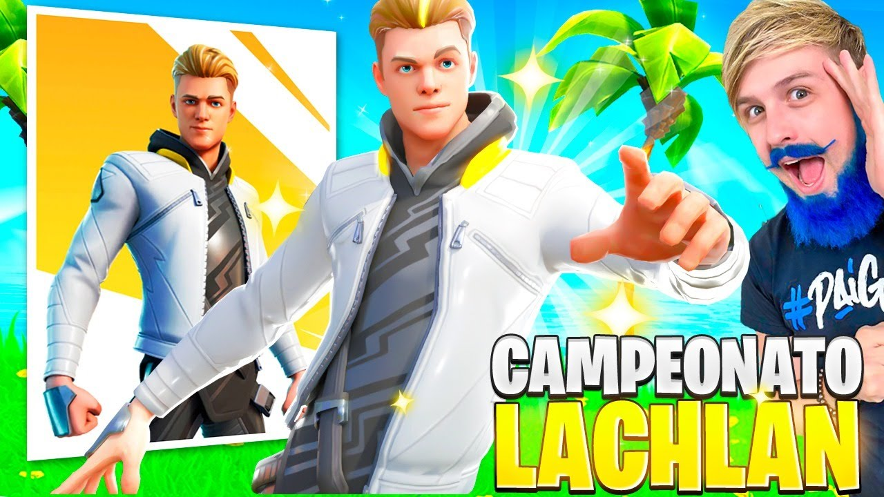 LIVE - LIBERANDO GRÁTIS A NOVA SKIN EXCLUSIVA DO LACHLAN NO FORTNITE
