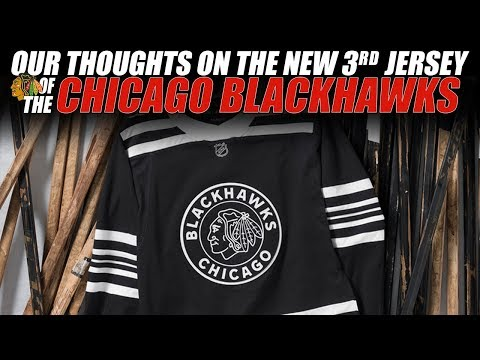 on sale a7fa2 7f555 Our Thoughts on the New Chicago Blackhawks 3rd Jersey! - YouTube