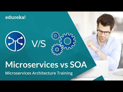 Microservices vs SOA | Microservices Tutorial for Beginners