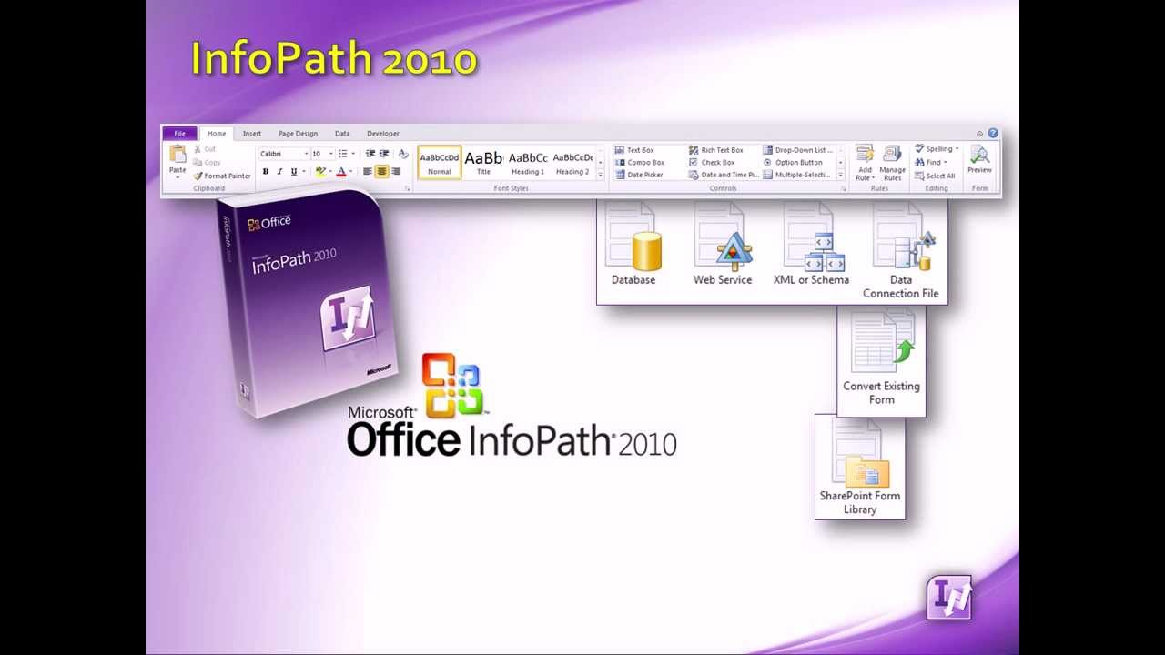 InfoPath 2010 | What Is InfoPath - An Overview - YouTube