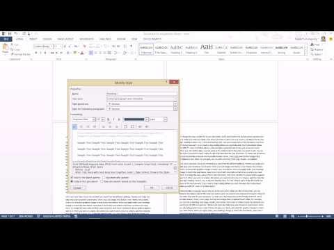 เทคนิคการใส่เลขหน้าใน Word ที่สามารถแยกส่วนเลขหน้าของสารบัญและตัวเนื้อหา