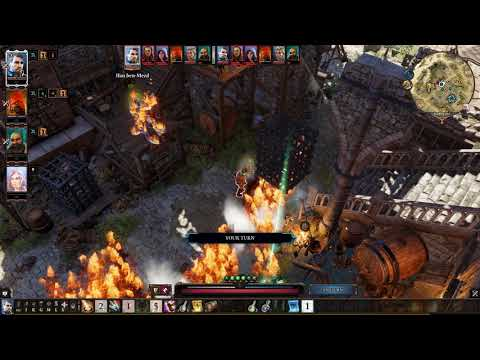 "Divinity Original Sin 2 - ""Camp Boss Griff Battle"" 1080p"