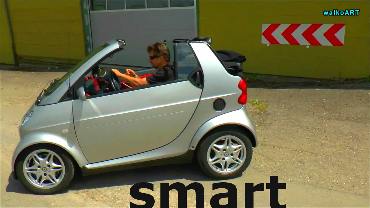 kein erlk nig smart fortwo a 450 cabrio die offene kugel smart fortwo convertible ride 2003. Black Bedroom Furniture Sets. Home Design Ideas