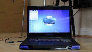Alienware M15x Laptop with SSD opening Adobe Master Collection CS5.5 and Microsoft Office 2010