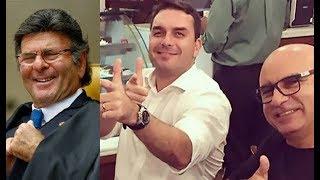 """STF Acovardado! Luiz Fux suspense investigação sobre """"laranja"""" de Bolsonaro, o motorista Queiroz"""