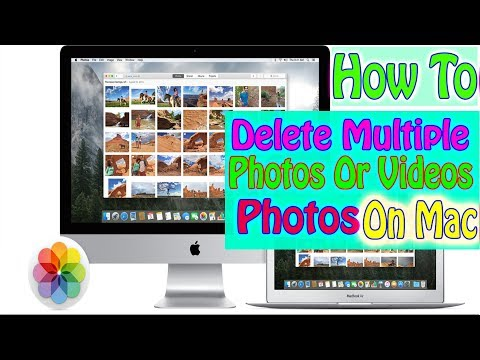 How to clear photos on macbook air