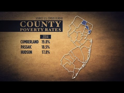 Census Data Reveals Cumberland County with the Highest Poverty Rate in New Jersey