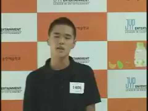 DEAN's JYP Audition