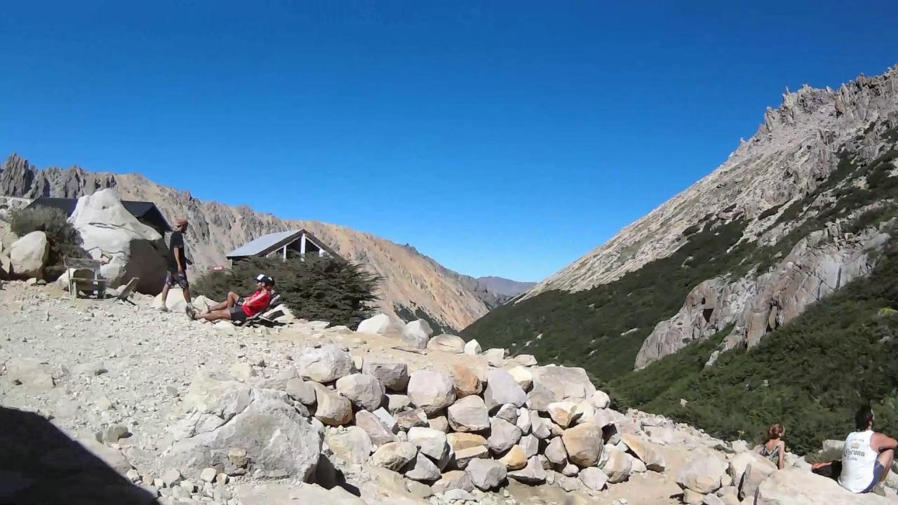 bariloche trekking por los refugios de montaa