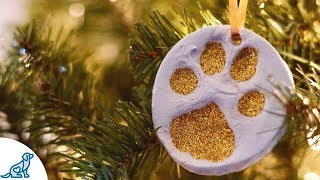 How to Make a Dog Xmas Ornament