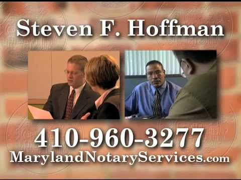 Mobile Signing Agent | Mobile Title Producer/Notary In Maryland