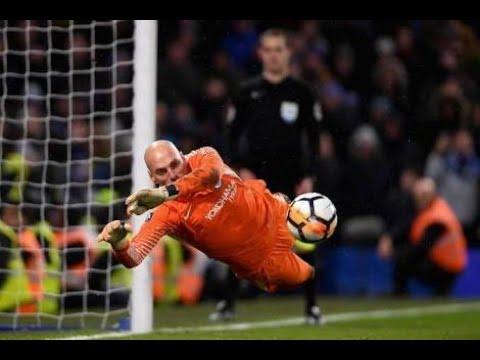 CHELSEA VS NORWICH penalty kick (5-3) FA CUP 2018 HD