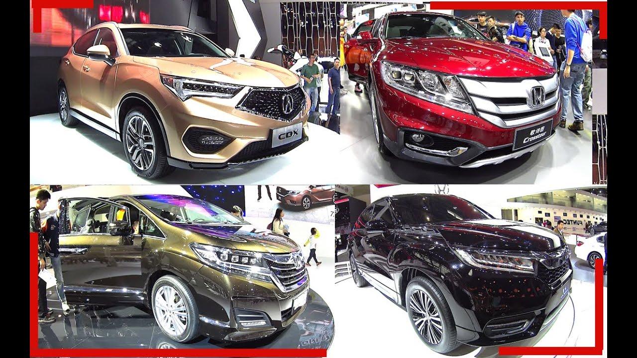 TOP 5 Premium Honda SUVs: Honda Avancier, Elysion, Odyssey, Crosstour, Acura CDX 2016, 2017 ...