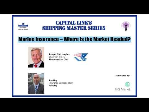 Marine Insurance - Where is the Market Headed with Joseph E.