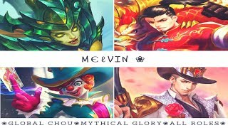 мєℓνιη ❀ Mobile Legends | Mythical Glory x 224 | Solo Queue/ ...