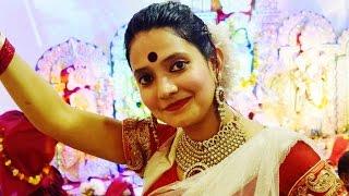 Bengali Dance on : Dhaker Tale Komor Dole (Paran Jai Jaliya Re) / Durga Puja song