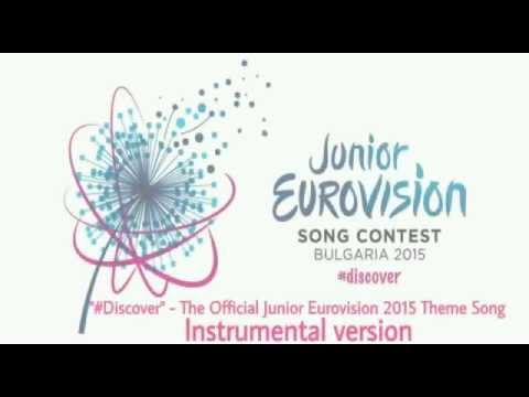 """""""#Discover"""" (Instrumental version) - The Official Junior Eurovision 2015"""