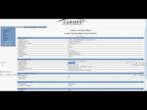Motorola Canopy SM Setup   YouTube