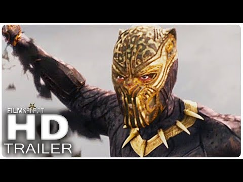 BLACK PANTHER Trailer 2 Italiano (2018)