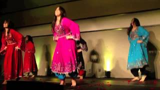 AFGHAN GIRLS STAGE MIX DANCE  AND ATTAN