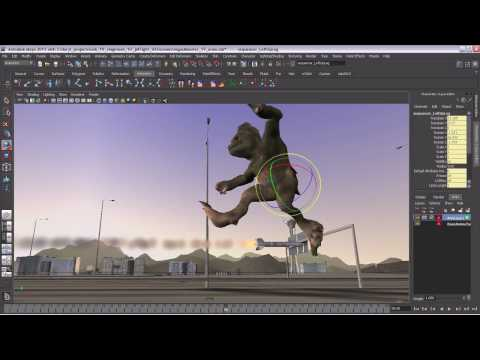 Autodesk Maya 2011 Software — General Animation Overview