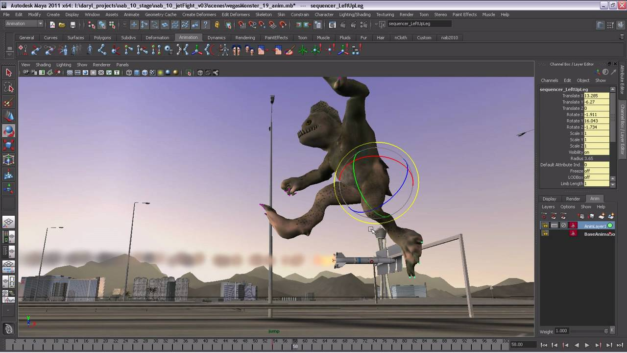 Autodesk Maya 2011 Software General Animation Overview Youtube