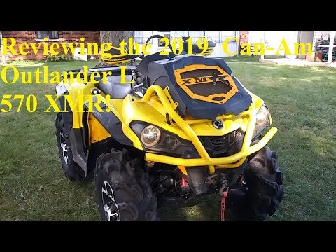 Full Build Review On The 2019 Can Am Outlander L 570 XMR!