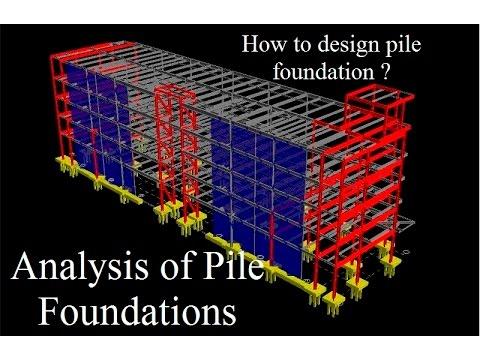 Pile Foundation Analysis And Design How To Design Pile Foundation Introduction To Pile Foundations Youtube