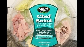 Taylor Farms Chef Salad Review