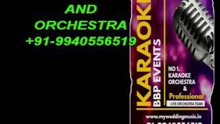 Video Karaoke Chennai - Un Mela Oru Kannu HQ Tamil (BBP Event)