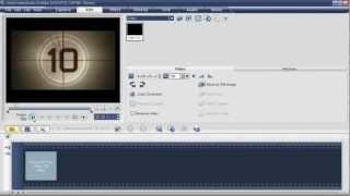 การตัดต่อวีดีโอ Ulead VideoStudio 11