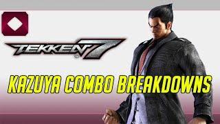 Tekken 7 Combo Breakdowns: Kazuya (1080p60) thumbnail