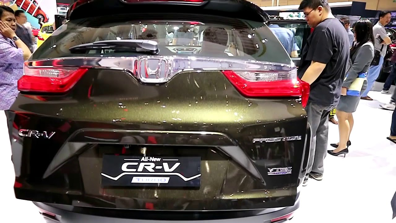 New Honda Cr V Turbo 2018 Dark Olive Metallic Colour