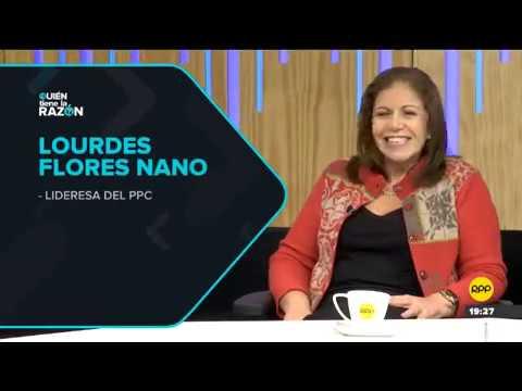 Lourdes Flores, líder del PPC  en #QTLR