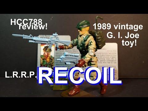 HCC788 - 1989 RECOIL - L. R. R. P. - vintage G. I. Joe toy review! HD