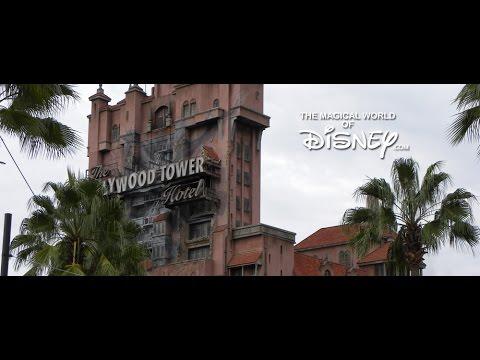 The Twilight Zone Tower of Terror Queue Area Music - Hollywood Studios - Walt Disney World