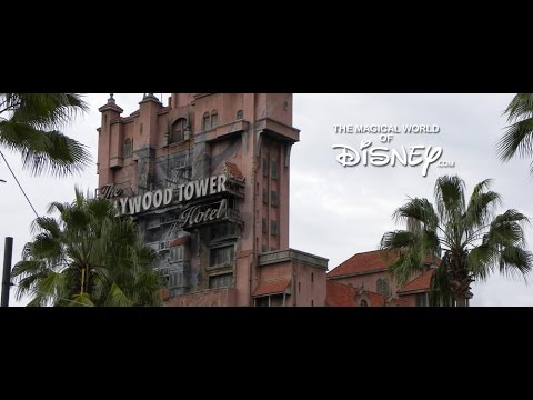 The Twilight Zone Tower of Terror Queue Area Music - Hollywood Studios - Walt Disney World