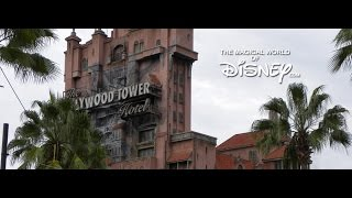 The Twilight Zone Tower of Terror Queue Area Music - Hollywood…