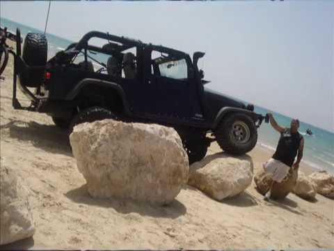 Basel Jeep Haifa 7 yavnael Trip