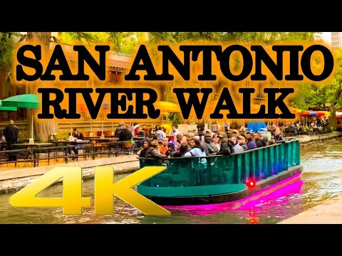 Visit San Antonio River Walk 4K