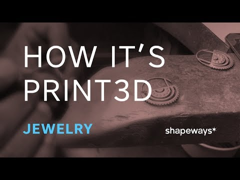 How It's Print3D: 3D-Printed Jewelry