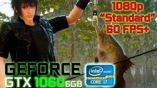 Final Fantasy XV PC Steam Demo Benchmark [1080p Standard] (GeForce GTX 1060 / Intel i7 7700)
