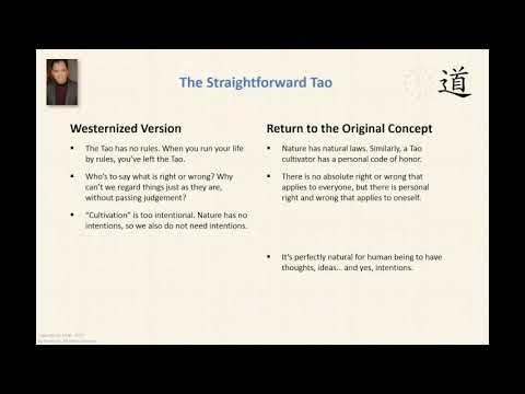 The Straightforward Tao