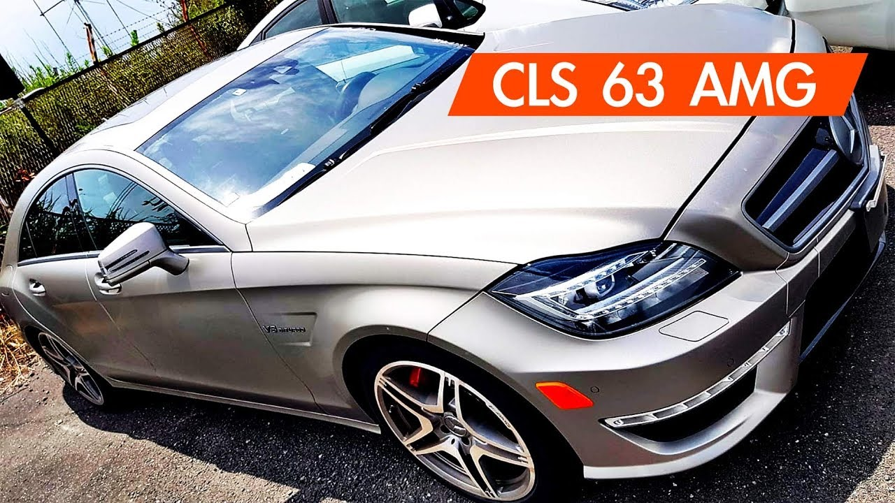 Mercedes-Benz CLS63 AMG - YouTube