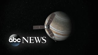 NASA Celebrates Juno Entering Jupiter