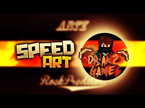SpeedArt || DRAKOGAMES || 10 Likes? !! Hago Banners Gratis