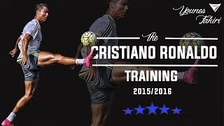 Cristiano ronaldo - training for season 2015/2016 hd