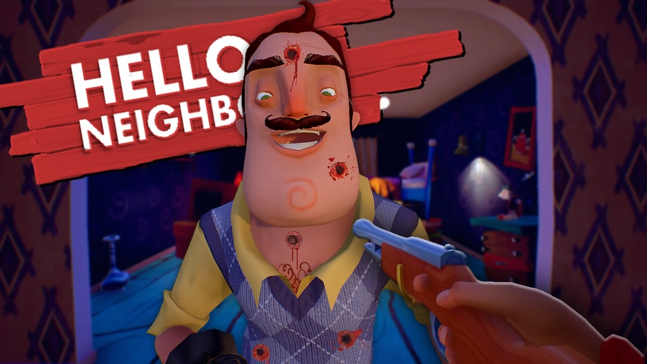 Poisoning And Killing The Neighbor Hello Neighbor Game