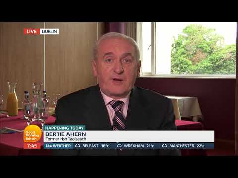 Ex Irish Taoiseach Bertie Ahern on Britain's Post-Brexit Border With Ireland | Good Morning Britain