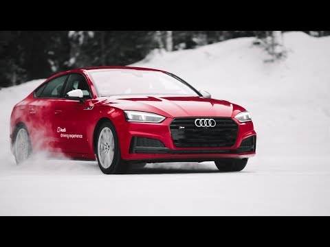 AUDI ICE DRIVING // Drifting the Audi S5 in Austria